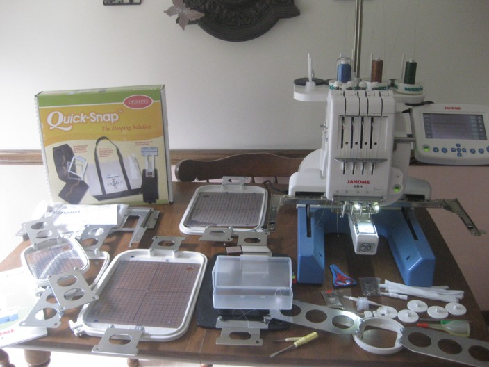 janome mb4 available