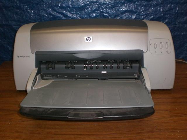Hp Color Deskjet 9300 Wide Format 11x17 Printer 30