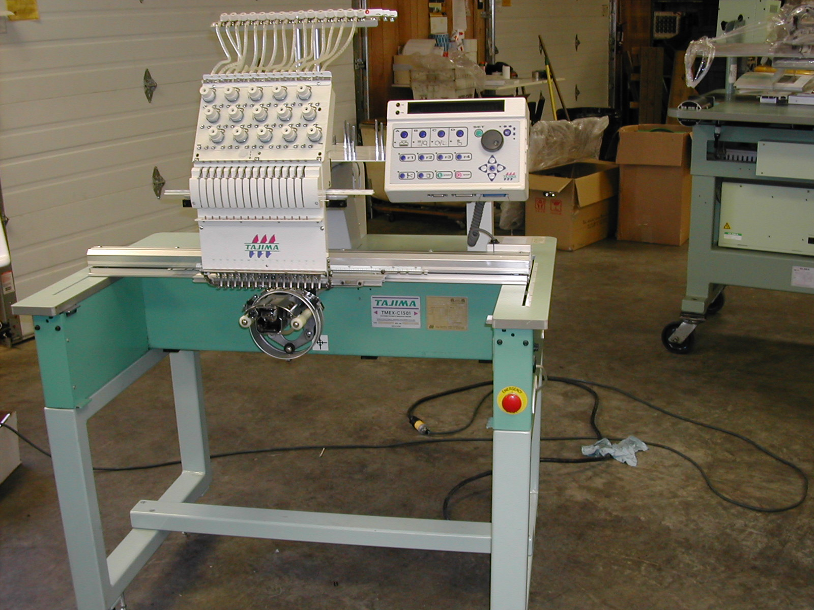 Used Tajima Embroidery Machine for sale!