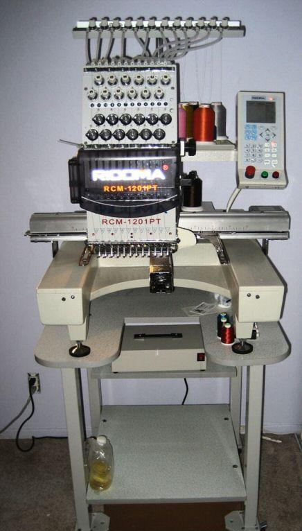 embroidery machine with digitizing software