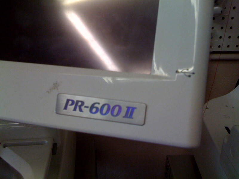 Used Embroidery Machines For Sale >> Brother 6-needle Embroidery Machines PR 600/PR 600II