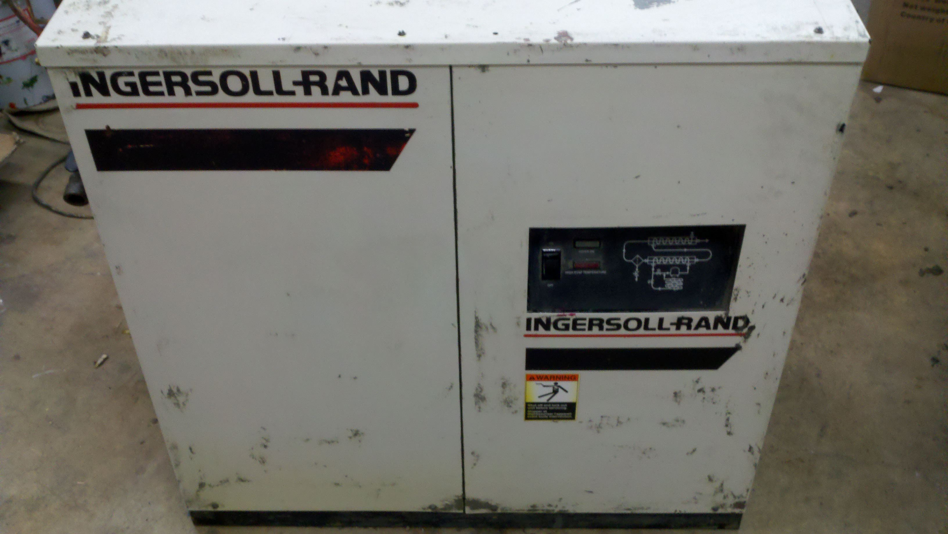 Ingersoll Rand Compressor And Air Dryer For Pnuematic Press border=