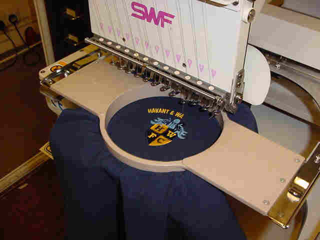 diy embroidery machine