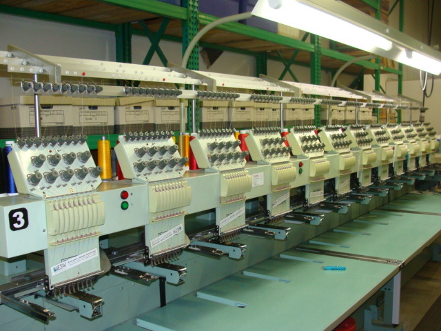 used tajima 12 head embroidery machine