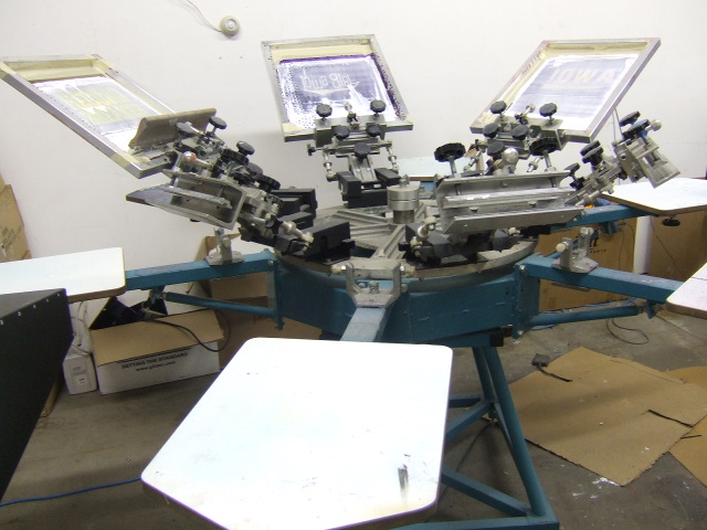 Complete Silk Screen Shop Set Up For Sale