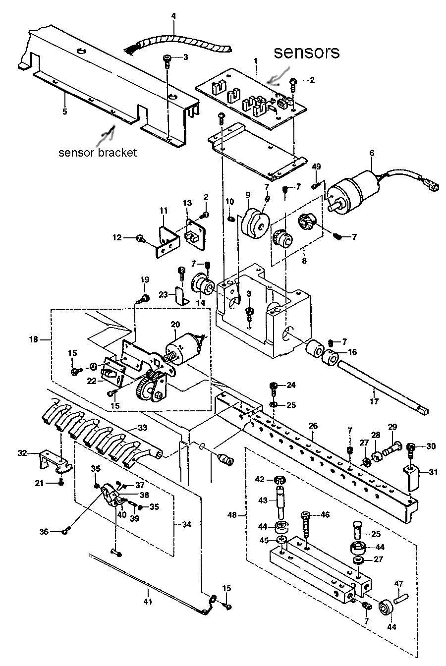 5 2 motor diagram auto electrical wiring diagram 2000 Isuzu Rodeo Engine Diagram toyota 850 needle change error