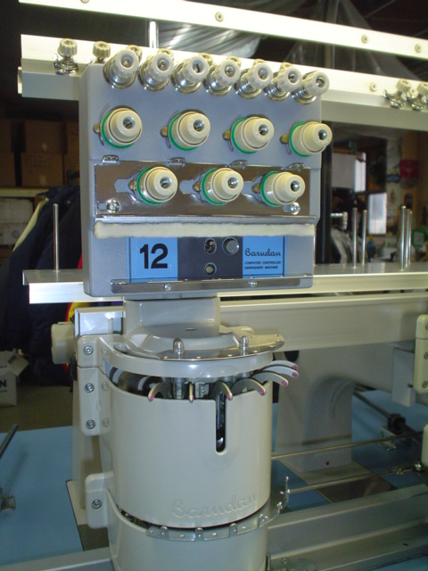 Barudan Unitech Embroidery Machine