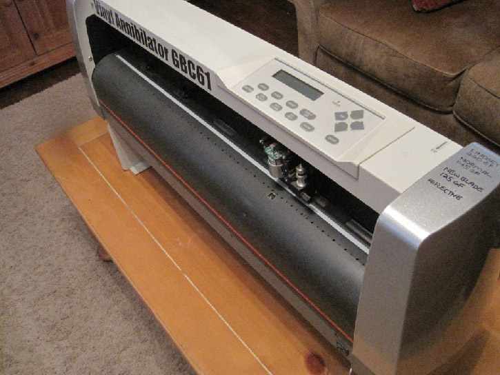 Parting Out Vinyl Express Grc61 Plotter