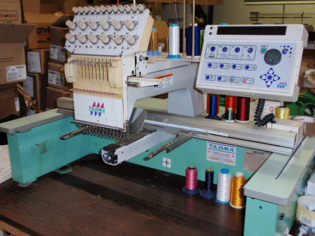 used tajima embroidery machine for sale