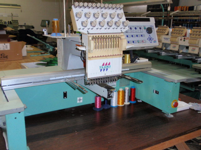 Used Embroidery Machines For Sale >> Tajima TMEX-C1201 Embroidery Machine FOR SALE