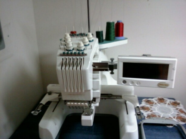 6 needle babylock embroidery machine
