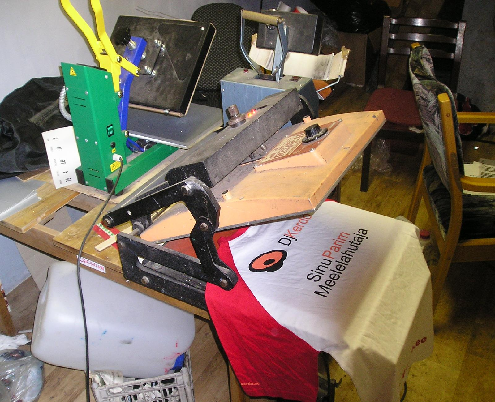 Used Screen Printing Equipment For Sale Estonia Europe