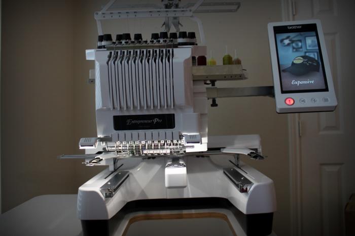 Brand New Brother Entrepreneur Pro Pr 1000 Embroidery Machine