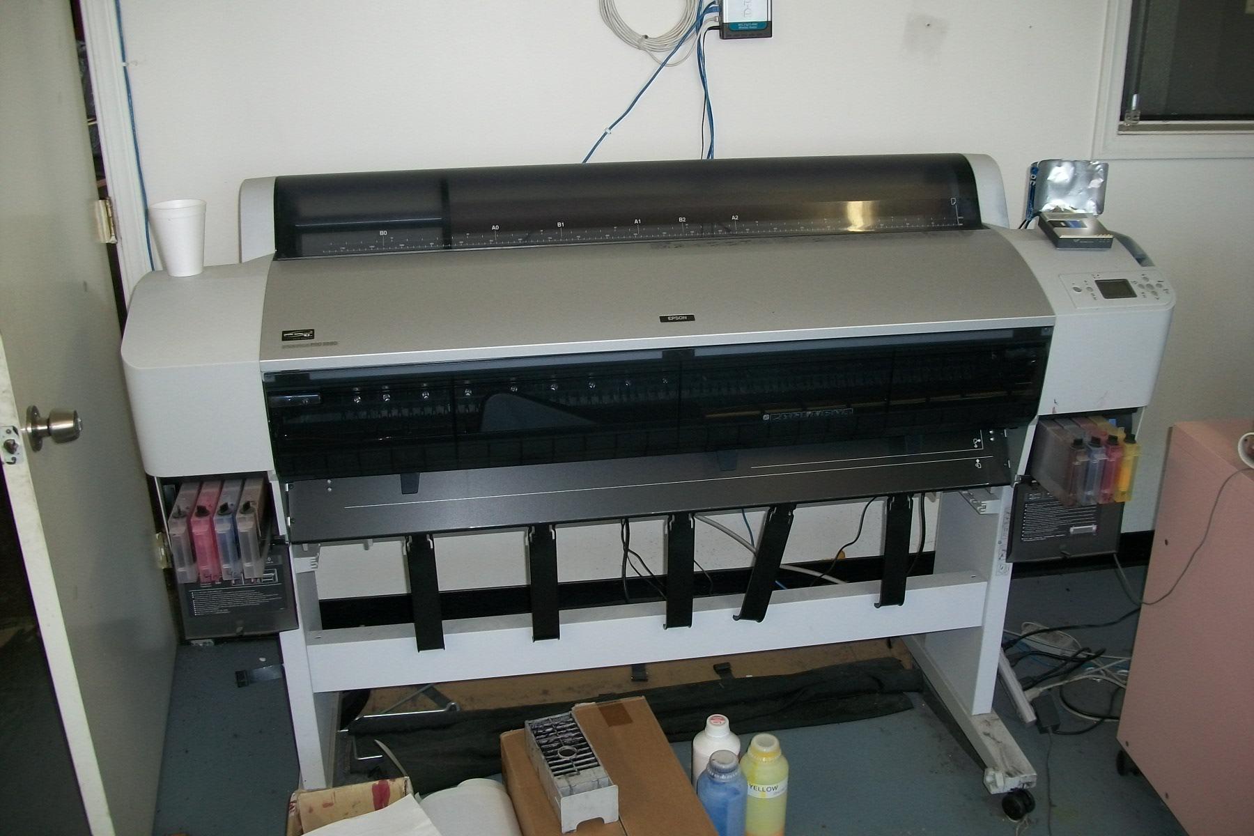 IT Supplies - Epson - Epson Stylus Pro 9880 Printer Stard Edition ...