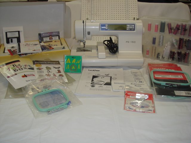 pe 150 embroidery machine for sale