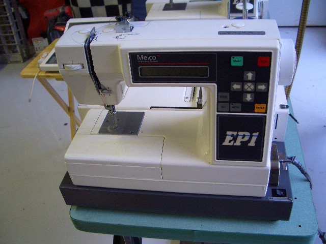 melco ep1 embroidery machine