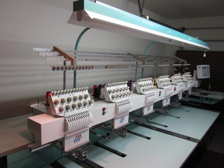 Tajima Six Head 12 Needle Embroidery Machine Tme Dc1206