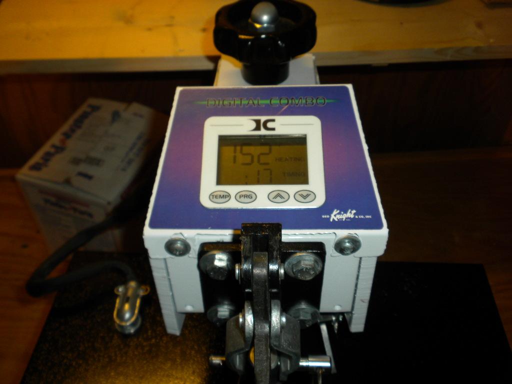 geo knight heat press manual