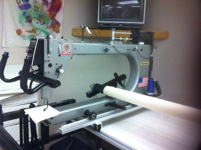 Gammill Optimum 12 foot Quilting Machine : gammill long arm quilting machine - Adamdwight.com