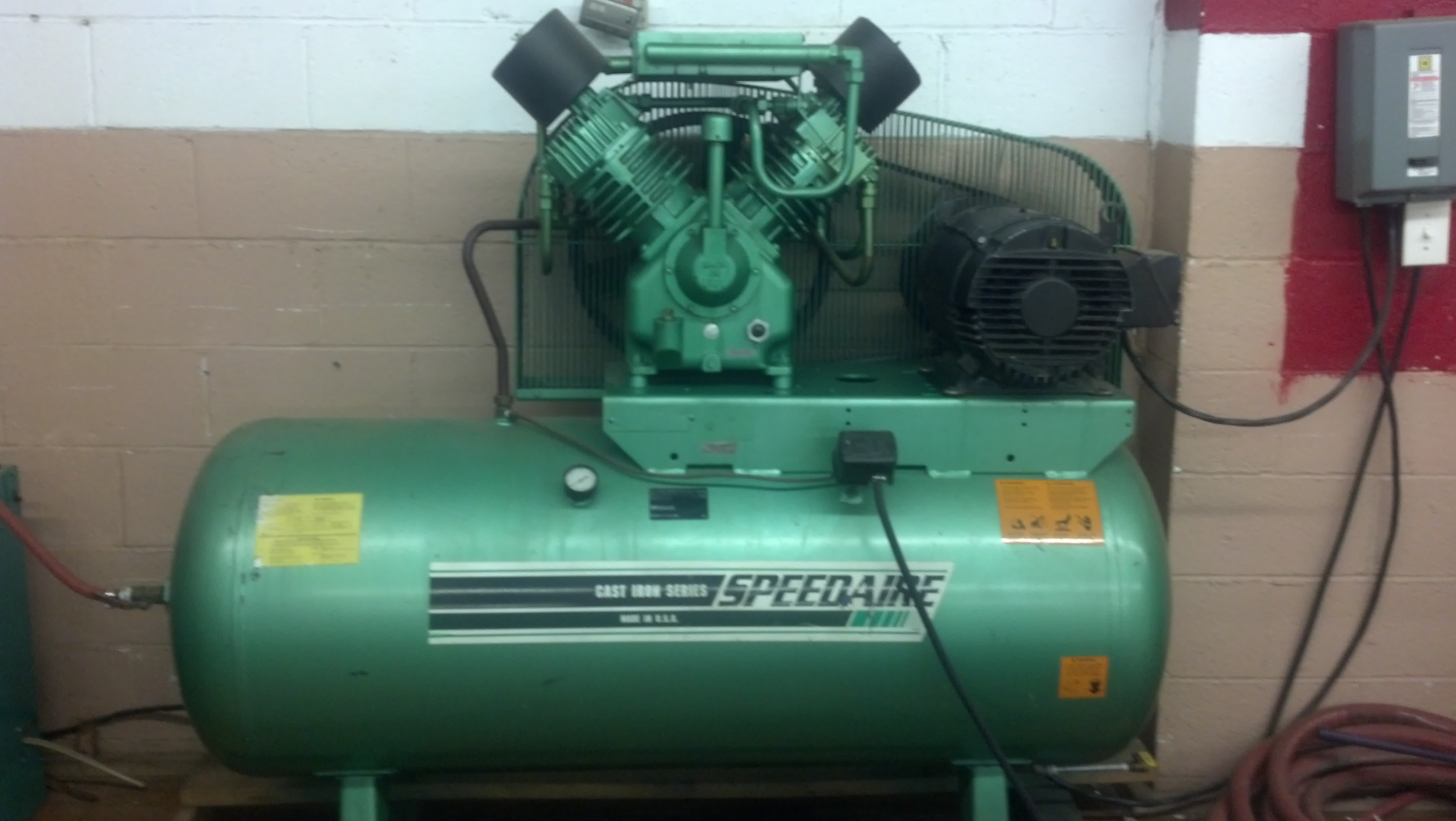 Speedaire Air Compressor Chiller