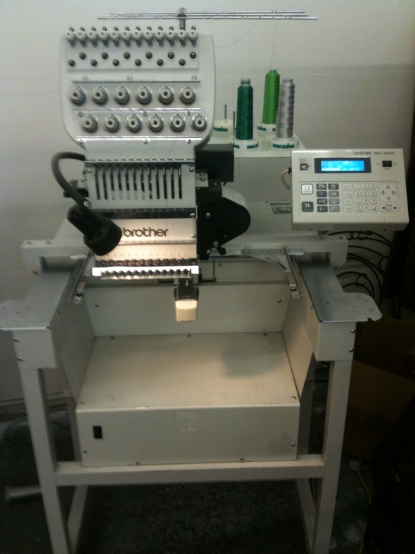 Commercial Brother Embroidery Machine