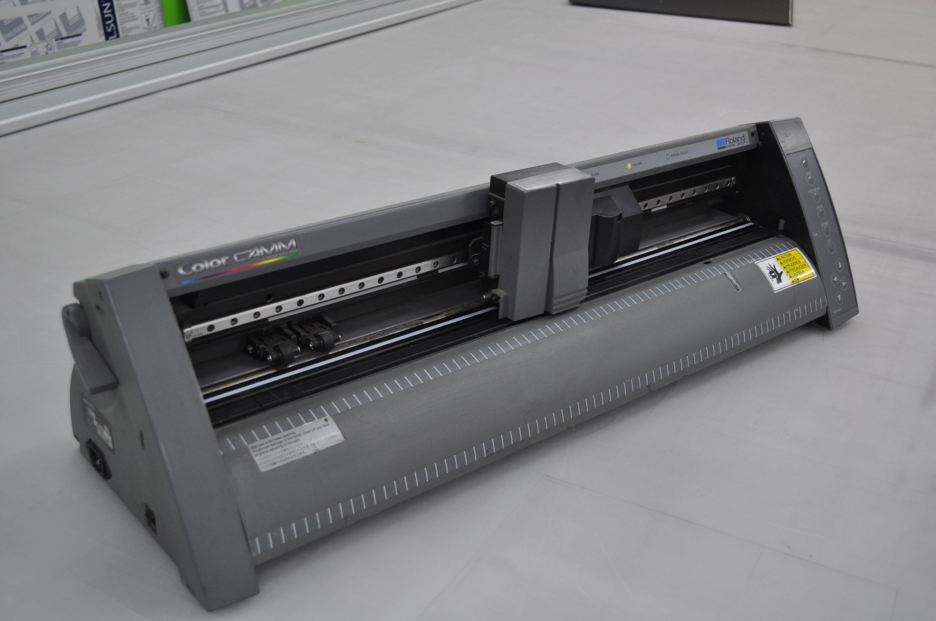 Roland Colorcamm Plus Pc 50 Vinyl Cutter Printer Plotter