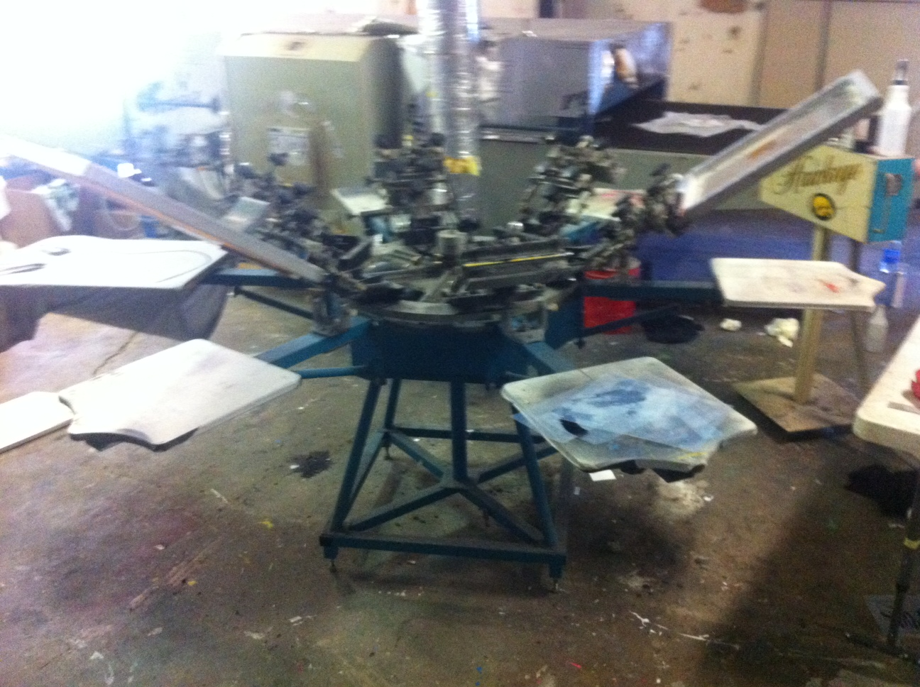 screen press machine for sale