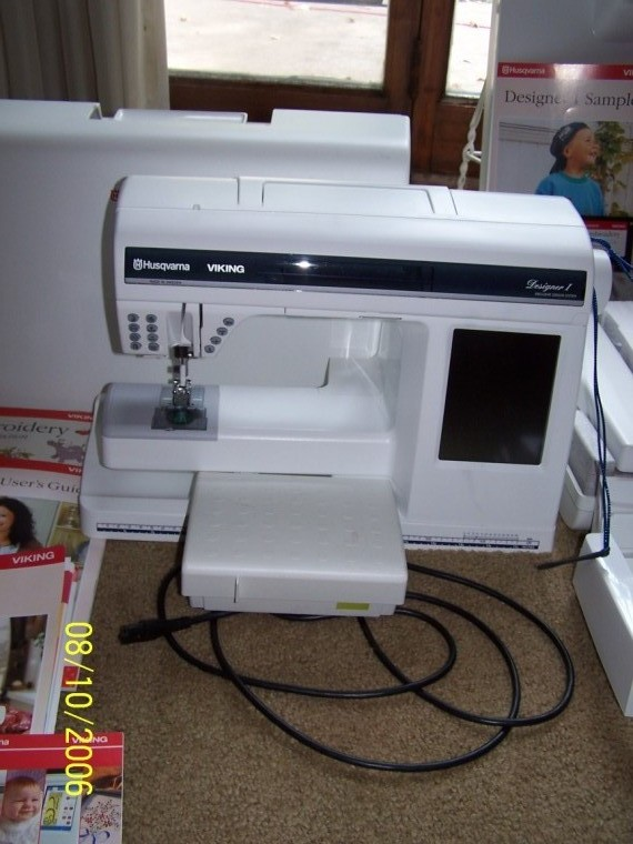 Husqvarna Viking Designer SE Sewing and Embroidery Machines