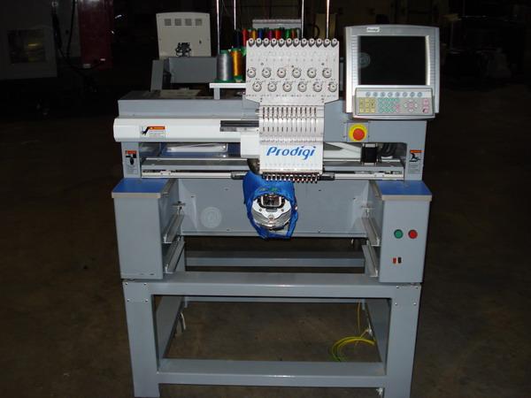 prodigi embroidery machine
