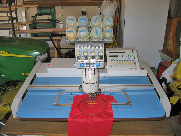 barudan beat iv embroidery machine for sale. Black Bedroom Furniture Sets. Home Design Ideas