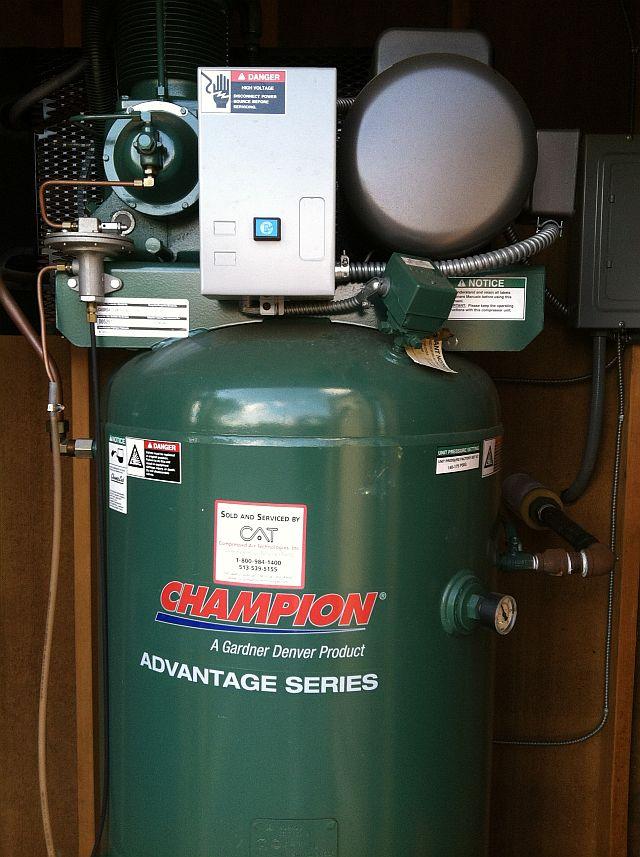 Champion 7.5 Hp Compressor & Chiller