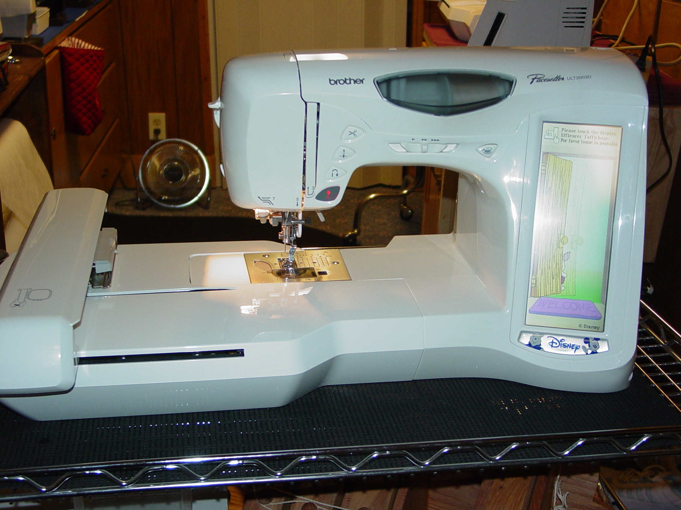 Brother Pacesetter Sewing-Embroidery Machine