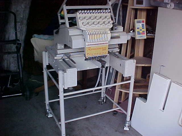 Renaissance Mini 2004 12 Color Embroidery Machine