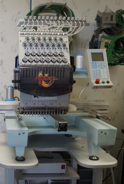 540 embroidery machine