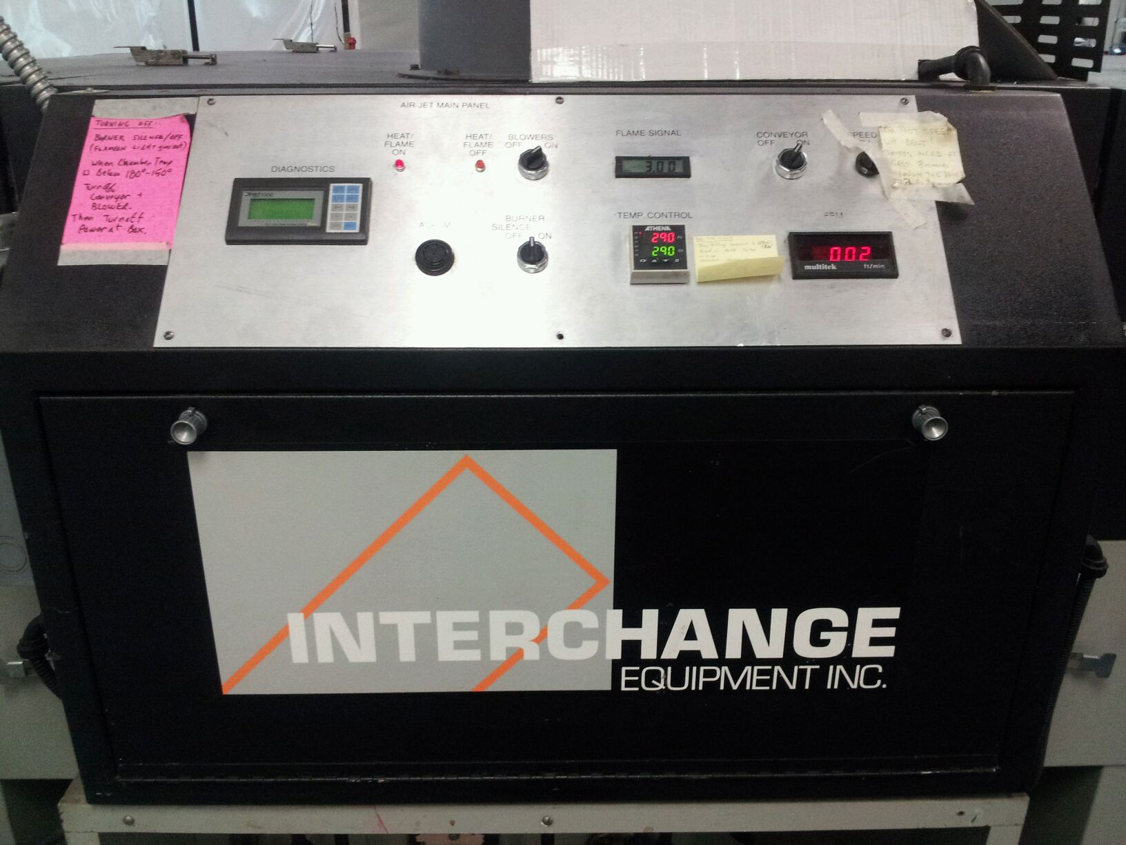 2 interchange dryers for