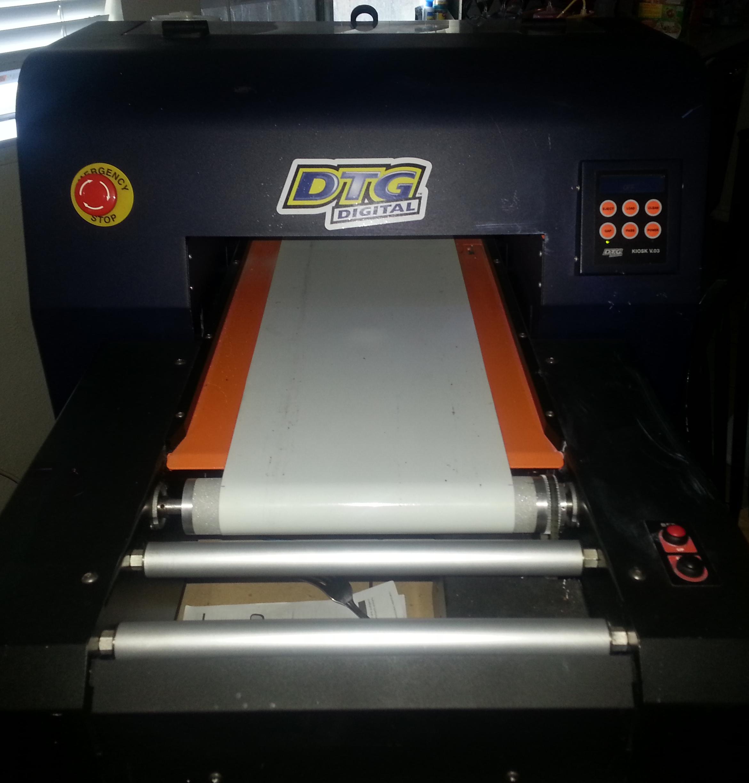 Dtg Printer For Sale >> DTG Raptor K3 with warranty