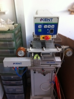 Kent Model Pp 21n 2s Two Color Two Position Pad Printer