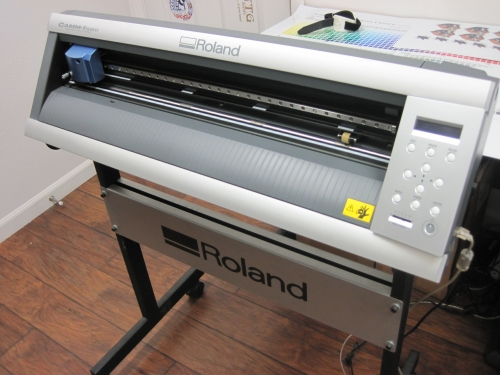 Roland Gx24 Gx 24 Vinyl Cutter Bundle With Stand And