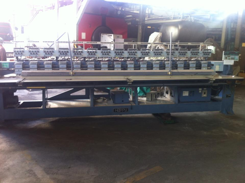 used happy embroidery machine for sale
