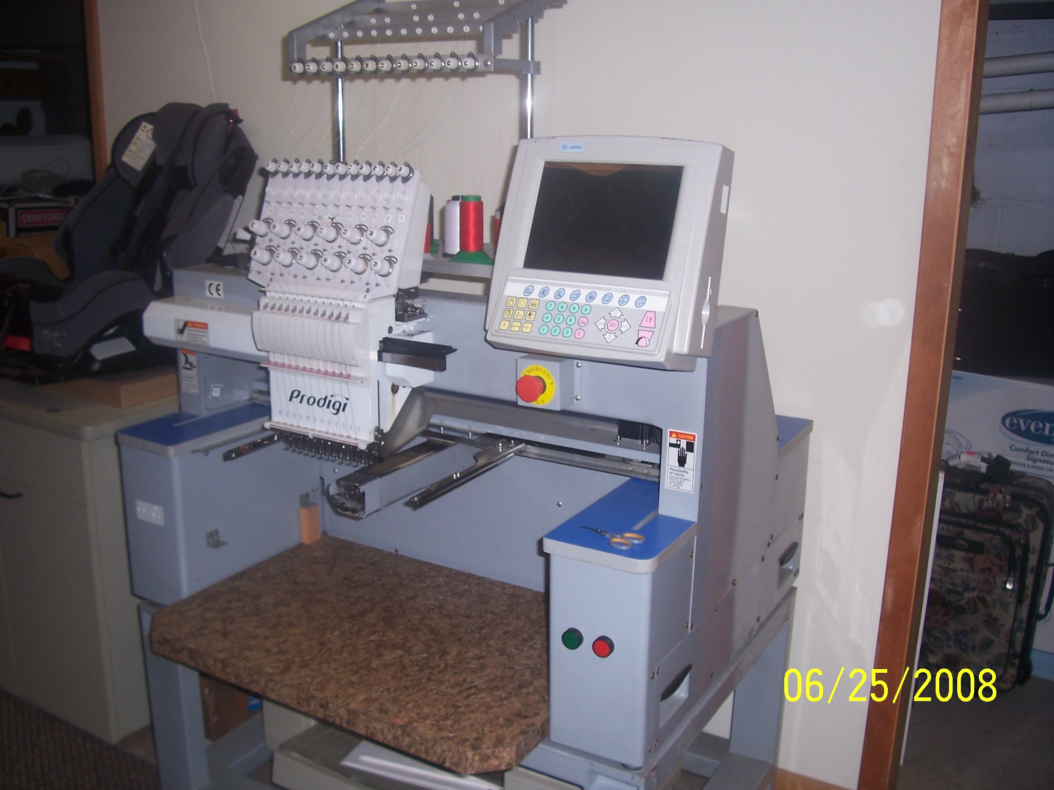 Used Embroidery Machines >> Used Prodigi Embroidery Machine