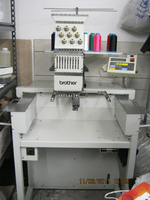 Used Embroidery Machines For Sale >> Brother BAS-415 $$$2000