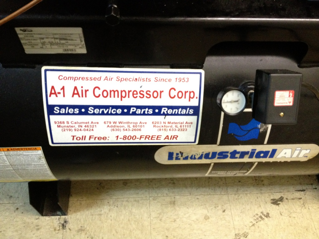 Air Compressor And Chiller