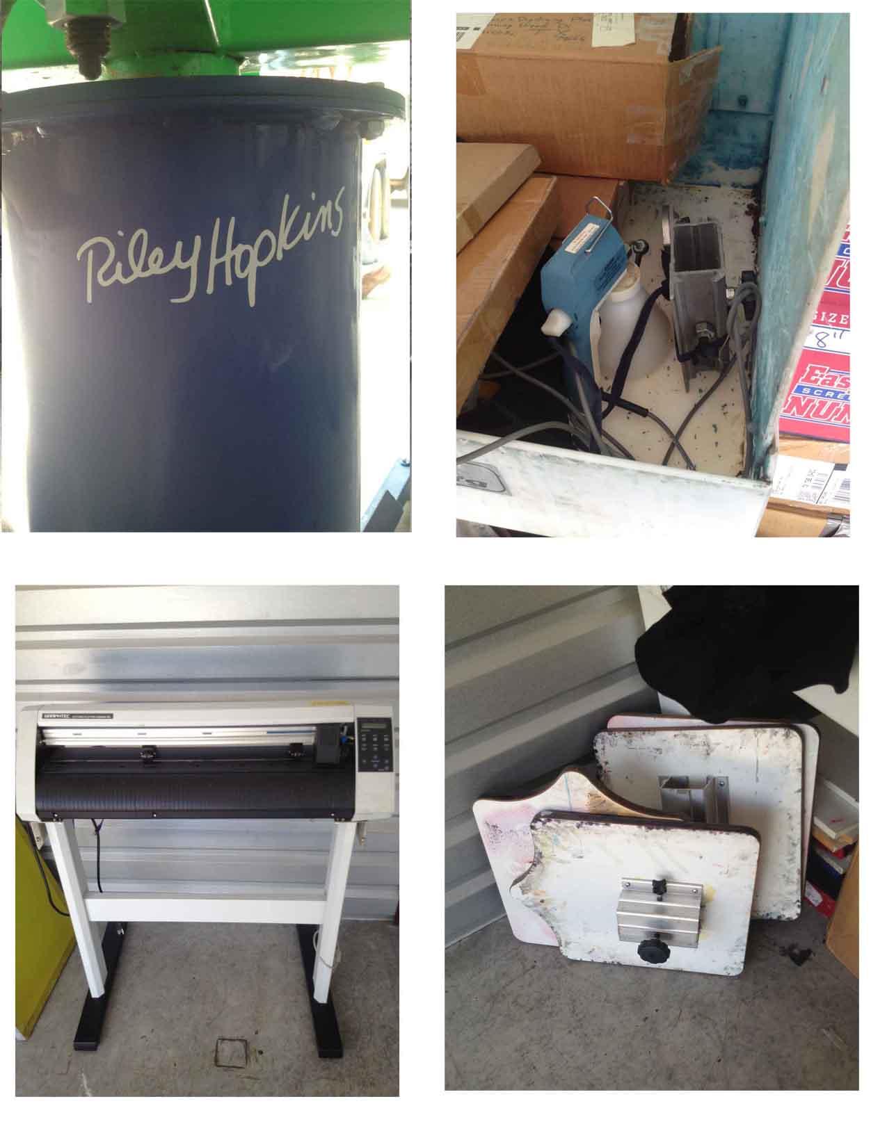 Complete studio set t shirt printing equipment for T shirt printing supplies wholesale