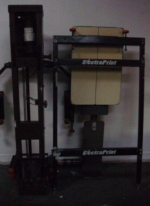 Used Brown Electra 6 Color Automatic Screen Printing Press