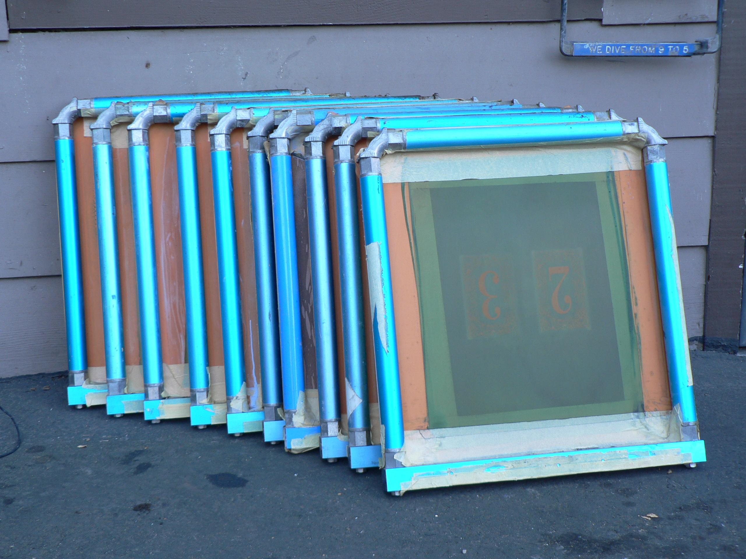 10 newman roller frames 18x20 id 010jpg