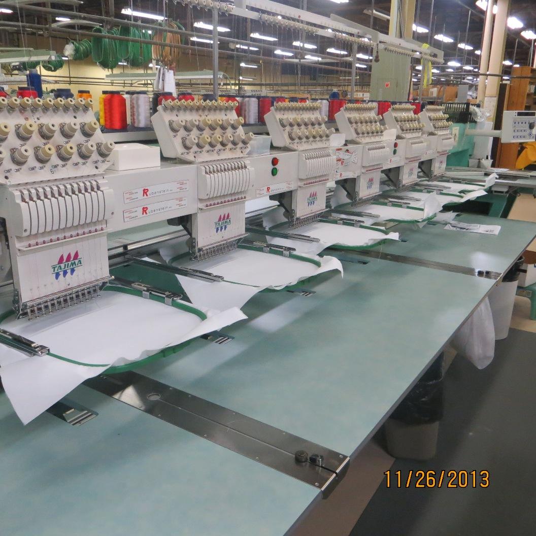Liquidation Sale! Tajima Embroidery Machines