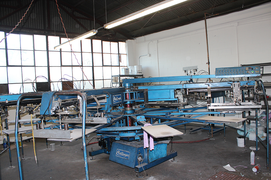 Screen Printing Equipment M Amp R Interchange