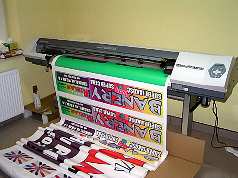 Vp 540 Roland Printer Citter