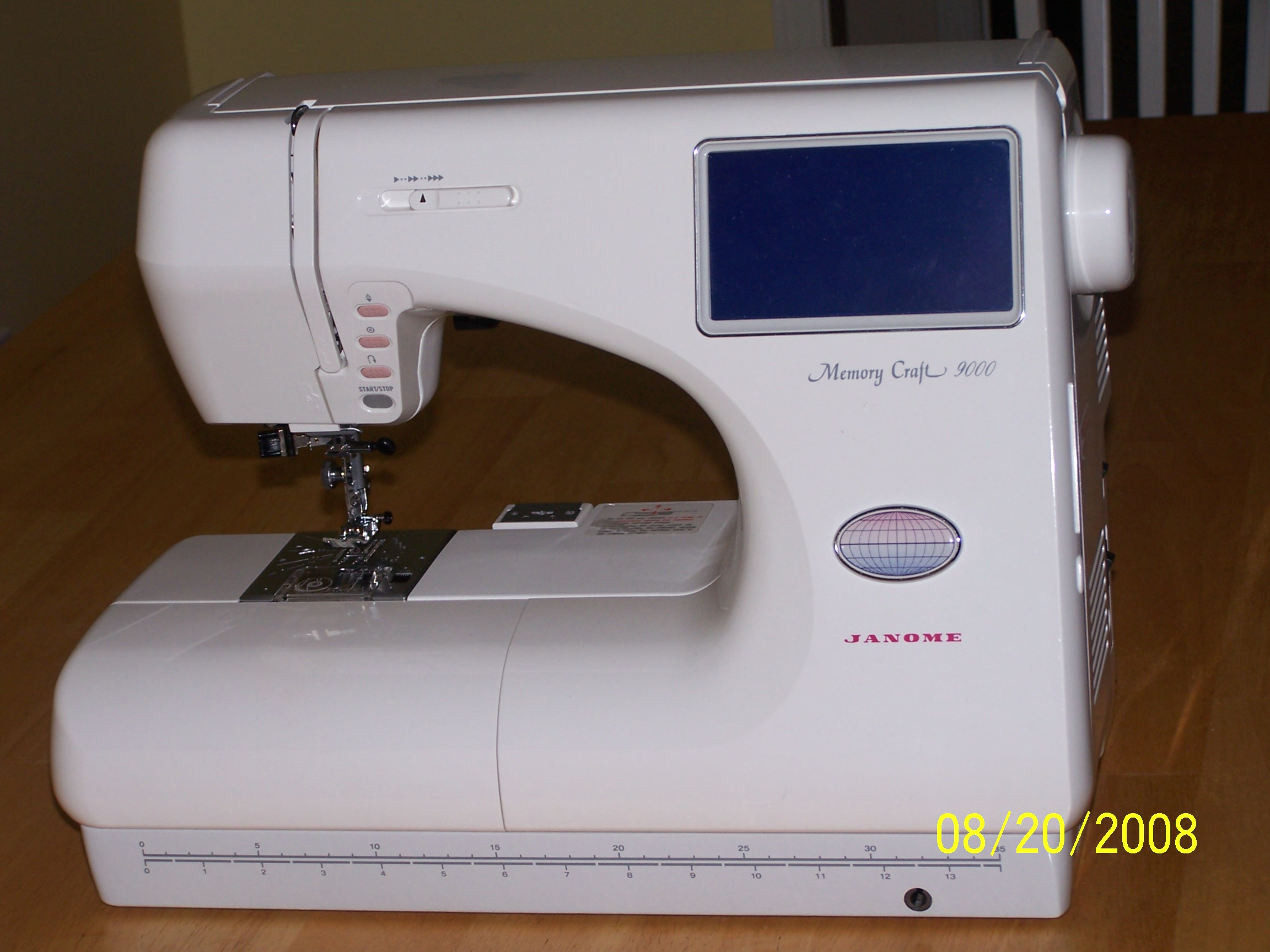 Janome 9000 for Janome memory craft 350e manual