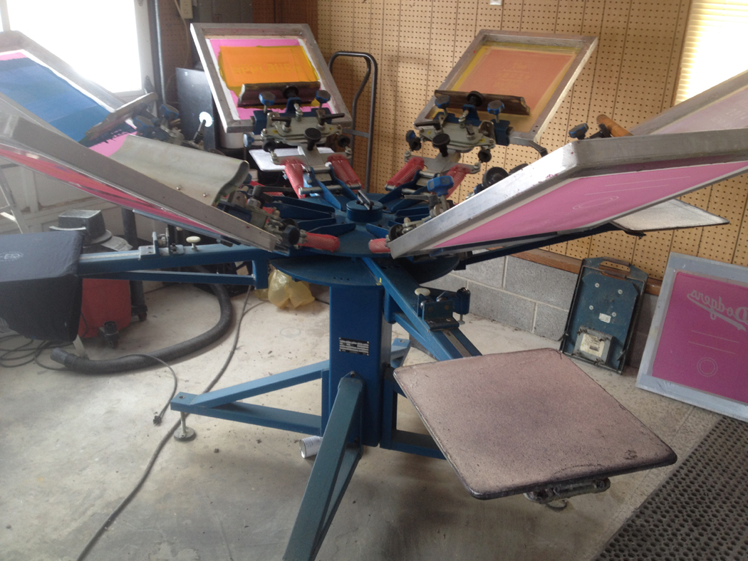 Complete Screen Printing Shop Equipment For Sale